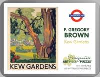 F GREGORY BROWN KEW GARDENS 100PIECE JIG - Used Books