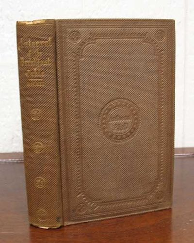 Boston: Phillips Sampson and Company, 1858. Original publisher's brown cloth binding with gilt stamp...