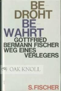 Frankfurt: S. Fischer, 1981. cloth, paper spine and cover labels, dust jacket. 8vo. cloth, paper spi...