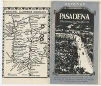 Pasadena The Crown City of California.  Auto Map.