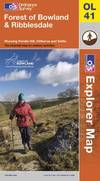 image of Forest of Bowland & Ribblesdale (OS Explorer Map)
