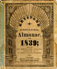 Keystone Agricultural Almanac, For 1839