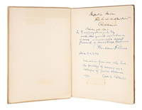 Speeches, Boston, 1900, Inscribed by Holmes, and Two Other Justices..