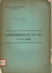 ENCROACHMENTS OF THE SEA. (Cover title).