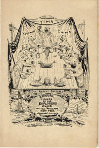 image of ORIGINAL MENU FOR THE