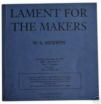 Lament for the Makers: A Memorial Anthology