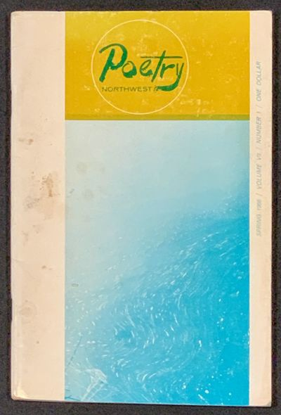 Seattle: University of Washington, 1966. 1st Printing. Color printed paper covers, stapled. Some wea...