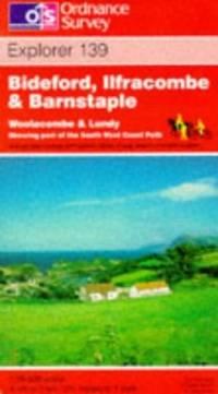 image of Bideford, Ilfracombe and Barnstaple (Explorer Maps)
