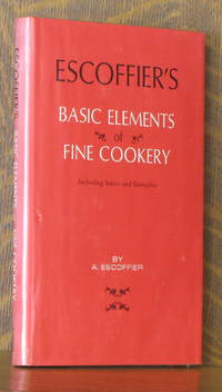 image of ESCOFFIER'S BASIC ELEMENTS OF FINE COOKERY