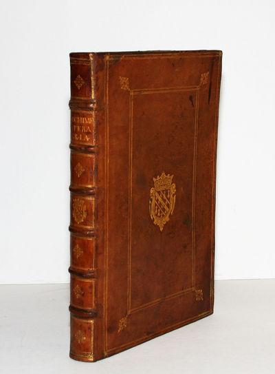 Paris: Claude Morel, 1615. Hardcover. Near Fine. Folio . (22) ff., 549 (i.e. 551, with frequent misn...