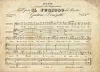 [Il Furioso]. Duetto Di quegli occhi i lampi ardenti Nell'Opera Il Furioso... Fr 2.50. [Piano-vocal score]