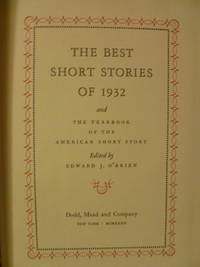 image of The Best Short Stories of 1932 and the Yearbook of the American Short Story