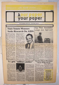 image of Our Paper, Your Paper; the gay family paper of the Santa Clara Valley; vol. 2, #6, March 23, 1983