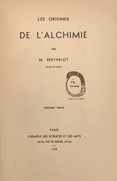 Paris :: Librairie des Sciences et des Arts, 1938., 1938. Reprint. 8vo. XX, 445 pp. Portrait, 2 tint...