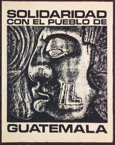 Sherman Oaks, CA: Shock Battalion, . 23x29 inch poster, silkscreened image based on Mayan art; paper...