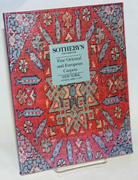 Fine Oriental and European Carpets; Sotheby's New York Tuesday April 7 1992. Property of Various Owners Including: The North Carolina Museum of Art ..Collection of Susan and Lewis Manilow ..Estate of Mary Covington ..h[et al.]