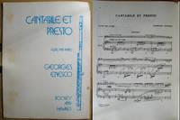 Cantabile et Presto: Flute and Piano