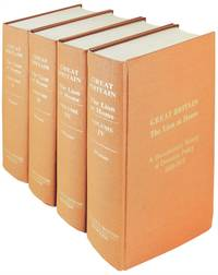 Great Britain. The Lion at Home.  A Documentary History of Domestic Policy 1689 - 1973.  4 volumes