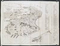 Panoramic Map of Havana. Plano Panoramico de La Habana.  First Edition in English.