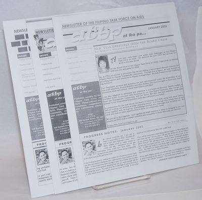 San Francisco: Filipino Task Force on AIDS, 2002. 3 issues, various pagination, 8.5x11 inches, illus...