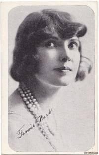 image of 1917 Kromo Gravure Trading Card of Film Star Fannie Ward