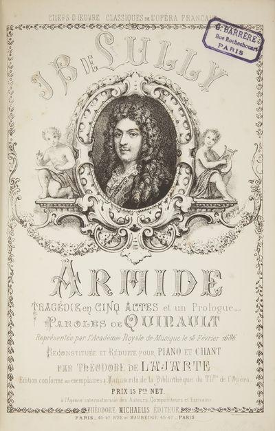 Paris: Théodore Michaëlis , 1880. Large octavo. Full dark blue cloth, titling gilt to spine. 1f. (...