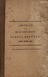 Abstract of the Massachusetts School Returns, for 1839-40