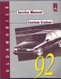 Oldsmobile 1992 Custom Cruiser Service Manual