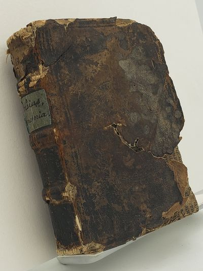 Basileae.: Nicolaum Brylingerum., 1546. Old leather, raised bands.. Good, front cover worn through a...