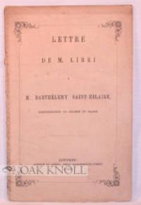 Londres: Barthes et Lowell, 1850. original printed paper wrappers. 8vo. original printed paper wrapp...