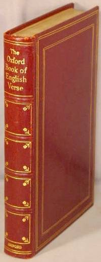 image of The Oxford Book of English Verse 1250-1918.