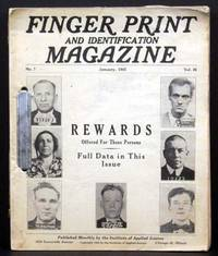 Finger Print and Identification Magazine (12 issues)