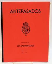 Antepasados; volume 7, 1986-1987