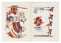 verlagsverzeichnis 1978, neuerscheinungen (farbiges papier), noch erhältliche titel (weisses papier)