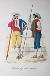 50 farbige Steindrucke.  Portugiesische Typen.