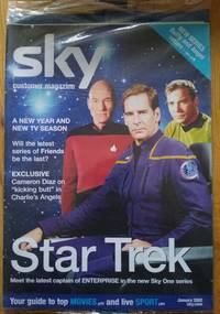 image of Star Trek Enterprise Sky Magazine 2002