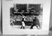 image of Bob Feller Pitching to Joe DiMaggio - April 1946:  Library of Congress