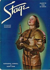 image of STAGE THE MAGAZINE AFTER-DARK ENTERTAINMENT (MARCH 1936)  Katharine  Cornell Front Cover