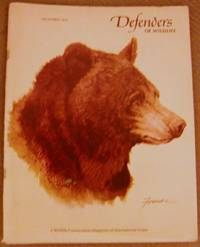 Defenders of Wildlife December 1974