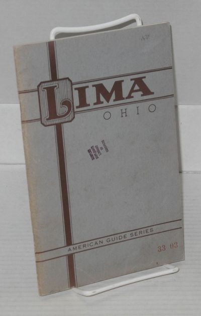Lima: Sponsored by The Lima Better Business Bureau, Inc, no date. Paperback. 64p., 5.35x8.5 inches, ...