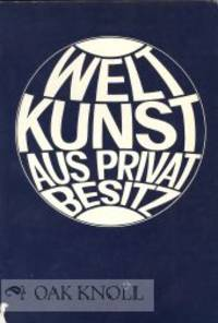 (Cologne): Kölner Museen, 1968. stiff paper wrappers. 8vo. stiff paper wrappers. variously paginate...