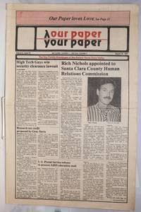 image of Our Paper, Your Paper; the gay family paper of the Santa Clara Valley; vol. 6, #16, August 26, 1987