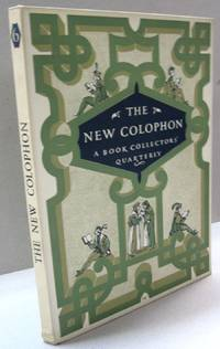The New Colophon; Volume Two Part Six