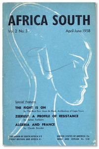 Africa South; Vol. 2, no. 3, April-June, 1958
