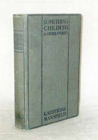 image of Something Childish and Other Stories