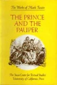 image of The Prince and the Pauper (The Works of Mark Twain, Volume 6)