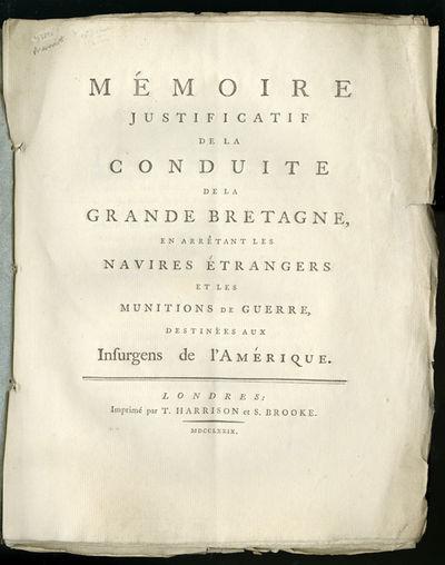 M�MOIRE JUSTIFICATIF DE LA CONDUITE...