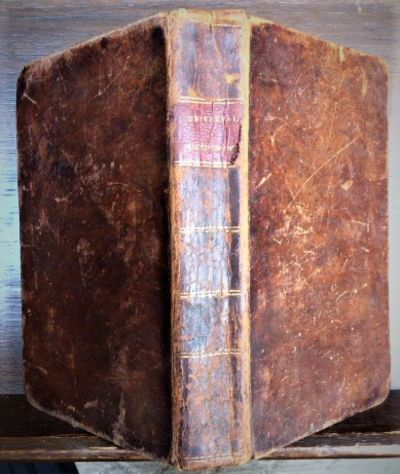 Philadelphia: Isaac Riley, 1818. Red leather spine label. Old notations on endpapers. Old water-stai...