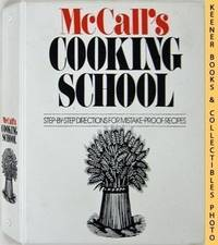 McCall's Cooking School Large Printed 3 Ring Cookbook Binder : Empty  Replacement Original Binder : McCall's Cooking School Cookbook Series