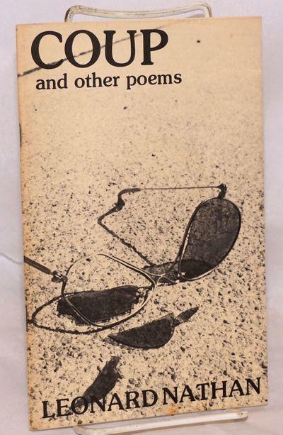 Lincoln, Nebraska: Wildflower Press, 1975. 22p, 5.5x8.5 inches, chapbook, mild wear at corners else ...